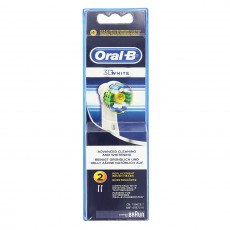 Oral-B 3D White Toothbrush Heads - 2 Pack