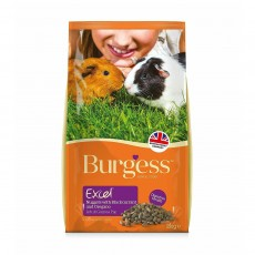 Burgess Excel Guinea Pig Nuggets Blackcurrant & Oregano - 2kg