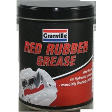 Granville Red Rubber Grease for Hydraulic & Braking Systems - 500g