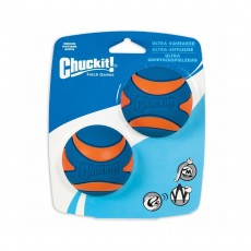 Chuckit! Ultra Squeaker Ball - Medium, 2 Pack