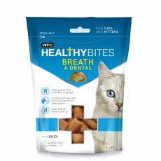 VetIQ Healthy Bites Breath and Dental for Cat Treats