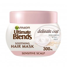 Garnier Ultimate Blends Oat Milk Sensitive Scalp Hair Mask
