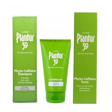 Plantur39 Fine Brittle Hair Caffeine Shampoo, Conditioner & Tonic