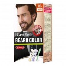 Hoyu Co. Bigen Men's Beard Color, Dark Brown