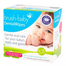 Brush-Baby Dental Wipes 28s