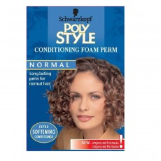 Poly Style Conditioning Foam Perm For Normal Hair - Blue
