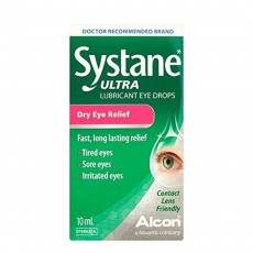 Systane Ultra Lubricant Eye Drops for Dry Eye Relief