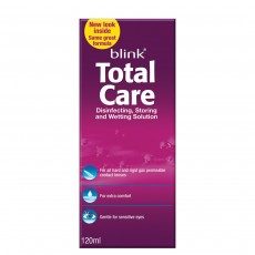 Blink Total Care Disinfecting Storing and Wetting Solution