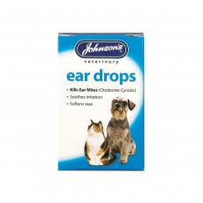 Johnson's Veterinary Products Ear Drops, 15ml