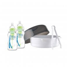 Dr Brown's Options Microwave Steam Steriliser Wide Neck Bottles