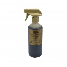 Gold Label Iodine Spray Horse Care and First Aid - 500 ml
