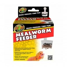ZooMed Mealworm Feeder Reptile Meal Food Bearded Dragon Garden
