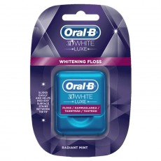 Oral-B 3D White Luxe Floss, Radiant Mint - 35 m