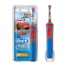 Oral-B Power Handle Vitality Stages Disney Cars Electric Toothbrush Rechargeable for Kids