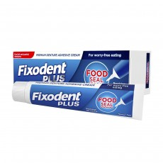 Fixodent Plus Best Food Seal Denture Adhesive Cream with Precision Nozzle - 40g