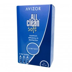 Avizor All Clean Soft All-In-One Comfort Contact Lens Solution