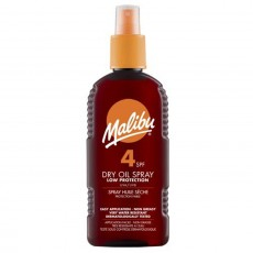 Malibu Dry Oil Suntan Lotion Spray