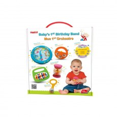 Halilit Baby's First Birthday Band Musical Instrument