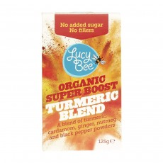 Lucy Bee Organic Raw Fair Trade Turmeric Powder – 125 g