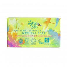 Lucy Bee Ylang Ylang, Jamine & Cedarwood Natural Soap - 150g