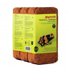 Komodo Tropical Terrain Compact Brick - 3 Pack