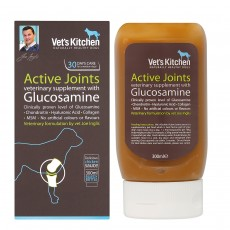 Vet's Kitchen Active Joints Glucosamine Liquid Supplement For Dogs
