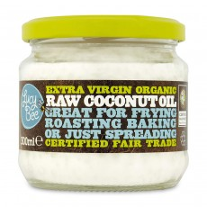 Lucy Bee Extra Virgin Fair Trade Organic Raw Coconut Oil - 300 ml