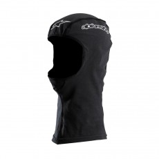 Alpinestars Open Face Balaclava in Black All Seasons with Extended Neck One Size