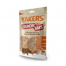 Yakers Natural Dog Treats Crunchy Bars Dry Yak Milk - 80g