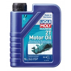 Liqui Moly 25019  Marine 2T Motor Oil - Mineral Based for Petrol Engines - 1L