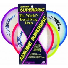 Aerobie Superdisc Flying Disk - Stable in Wind - 25cm - 12pc