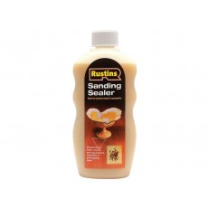 Rustins - Sanding Sealer - Used to Seal Wood Before Waxing - 300ml