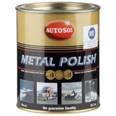 Autosol Metal Polish - Also for  Brilliant Chrome and Aluminium - 750ml