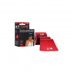 KT Tape Cotton Precut Kinesiology - 20 Strips, Red