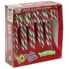 Elves Behaving Badly Elf's Candy Canes Box with Peppermint Flavour - 10pc