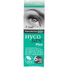 Hycosan Plus Preservative Free Eye Drops - 7.5ml
