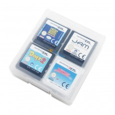 Decrescent 16 Game Card Storage Case for Nintendo 3DS, 2DS, DSi, DS Lite & Original DS - Clear