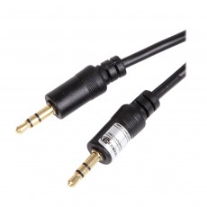 Decrescent 3.5mm Aux Jack to Jack Wire Headphone Lead MP3 to Car or Smartphones and Tablets (See description for compatibility)