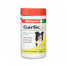 Vetzyme Garlic Tablets - 240 Tablets