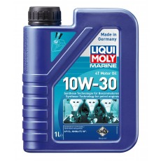 Liqui Moly 25022  - Marine 4T Motor Oil 10W-30 with Syntheses Technology - 1L