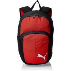 Puma Pro Training II Unisex Backpack Black / Red Polyester with Double Zip