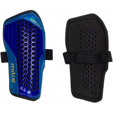 Mitre Aircell Carbon Slip Football Shin Pads - Anatomical Fit - Small