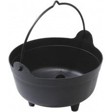 Large Cauldron - Made of Plastic - Great for Halloween - 14""
