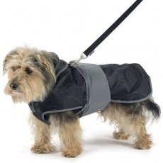 Ancol Muddy Paws 2 in 1 Dog Coat with Harness 40cm - Girth 48-60cm