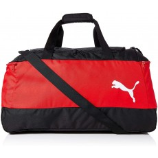 Puma Pro Training II Unisex Bag Black / Red Polyester with Side Pockets - S