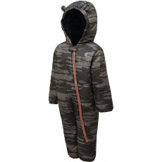 Dare 2b Kid's Hooded Character Rain and Snowsuit in Grey - 18 / 24 Months