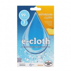 E-Cloth Bathroom Cloth - Removes Grease & Bacteria for General Purpose