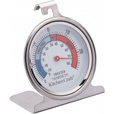 KitchenCraft Dial Type Freezer / Fridge Thermometer with Simple Design