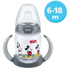 NUK Disney First Choice Learner Bottle Grey