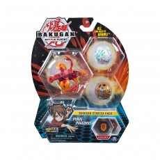 Bakugan Starter Pack Collectible Assortments - 3-Pack (Style May Vary)